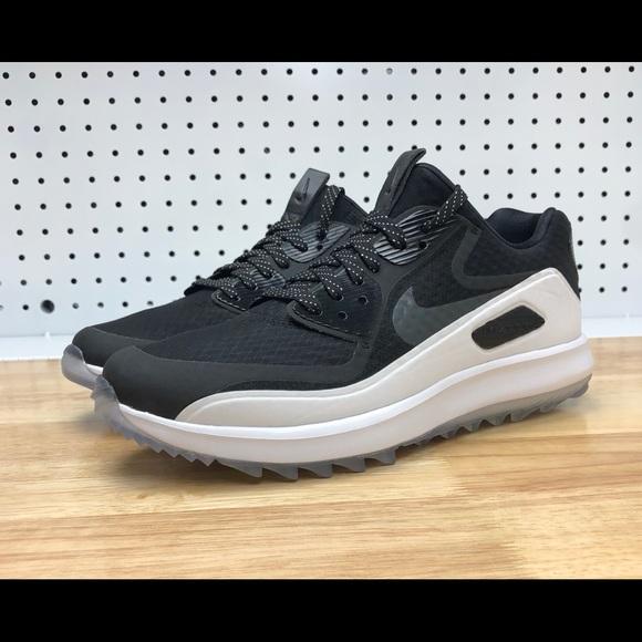 0d96c33a1a61e Nike Air Max Zoom 90 IT Golf Shoes Black White